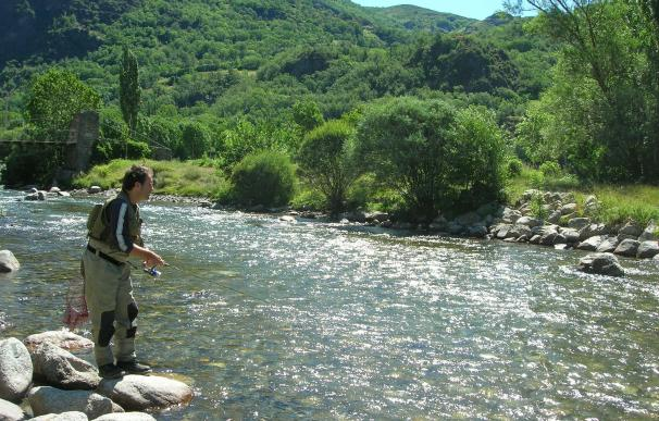 Podemos pregunta por los convenios del Principado con sociedades de pesca fluvial