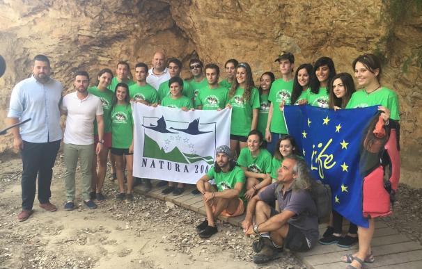 Jóvenes de varias CCAA recuperan el bosque ribereño del Segura en Moratalla, Calasparra y Cieza