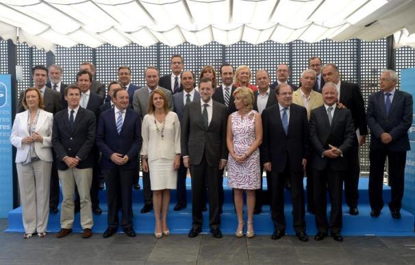 """Diego destaca la """"unidad de criterio y de acción"""" de todos los presidentes autonómicos del PP"""