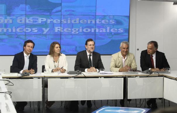 Rajoy y sus 'barones' lanzan un mensaje de unidad frente a los ajustes