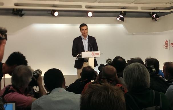 Pedro Sánchez se despide ofreciendo su lealtad a la Comisión Gestora que salga del Comité Federal