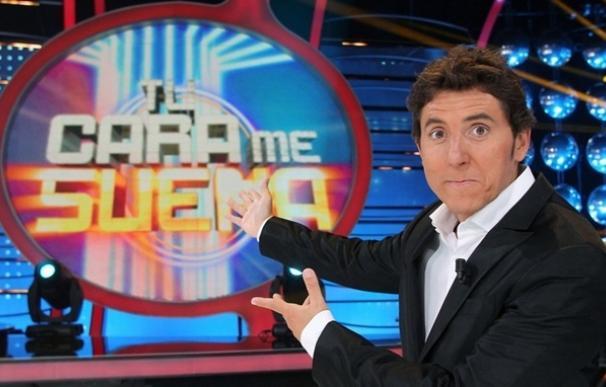 'Tu cara me suena' en Antena 3, presentado por Manel Fuentes.