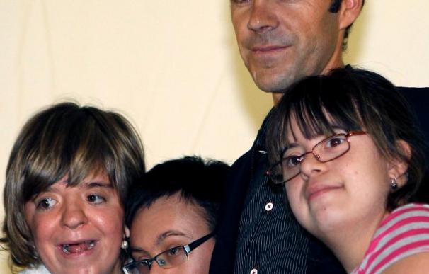 José Tomás apoya un nuevo centro de la Fundación Síndrome de Down de Madrid