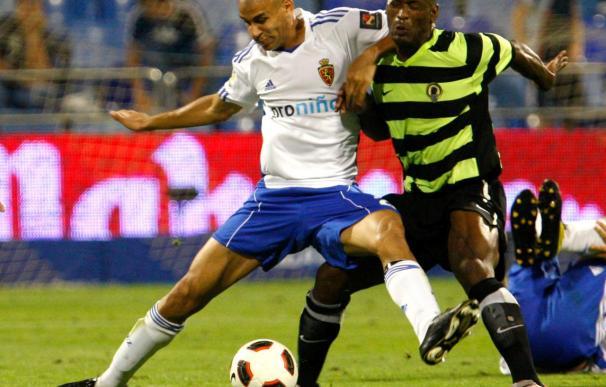 Los jugadores del Hércules dan por bueno el punto logrado en Zaragoza