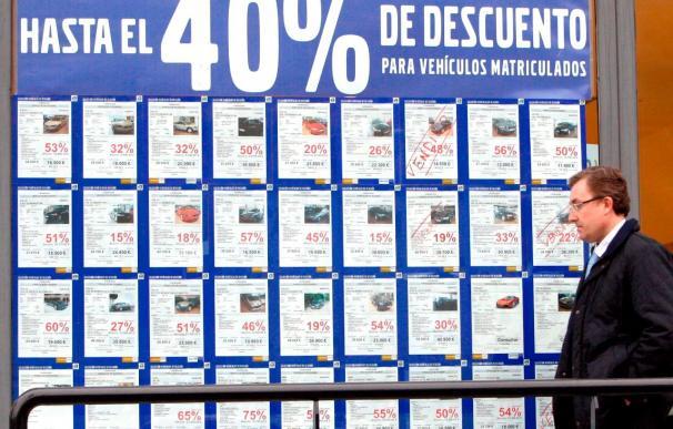 El mercado de turismos cerrará marzo con una caída del 31 por ciento
