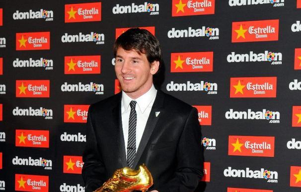 """Messi: """"La Bota de Oro es mérito de los compañeros, que me ayudaron a hacer los goles"""""""
