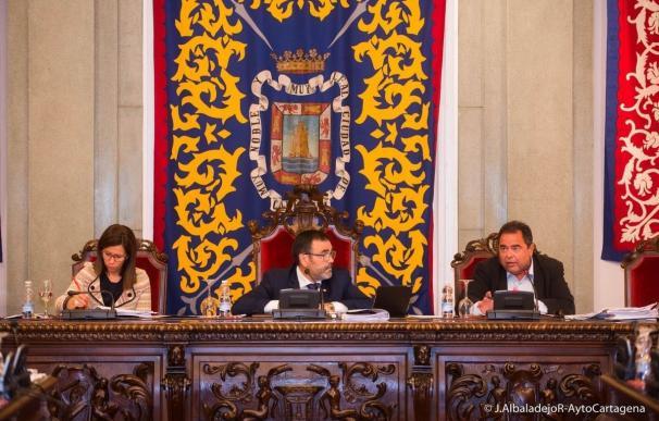 El Ayuntamiento de Cartagena aprueba una bajada de tributos para 2017 y el estudio de la provincia de Cartagena