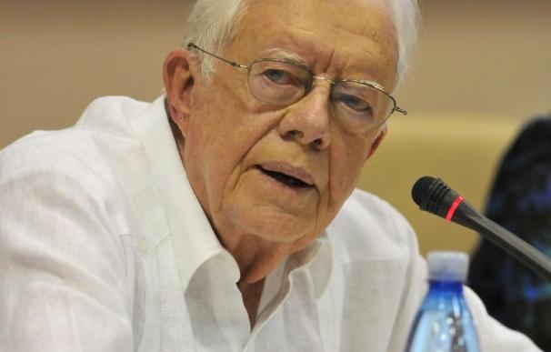 Jimmy Carter concluye su visita a Cuba donde también vio a Fidel Castro