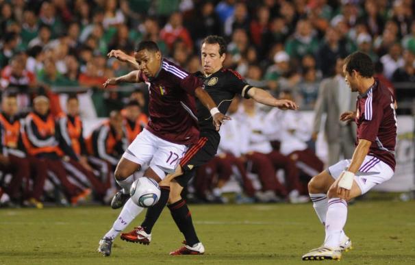 1-1. México cede un apretado empate ante Venezuela