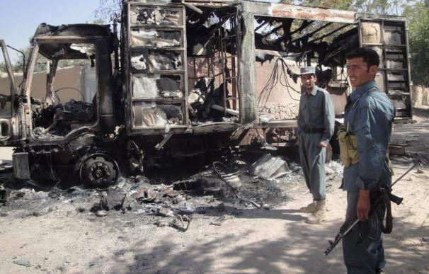 Las tropas en Afganistán repelen un ataque y un soldado resulta herido leve