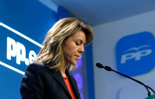 Cospedal ante el acto de conciliación en Toledo afirma que ella mañana estará en Talavera