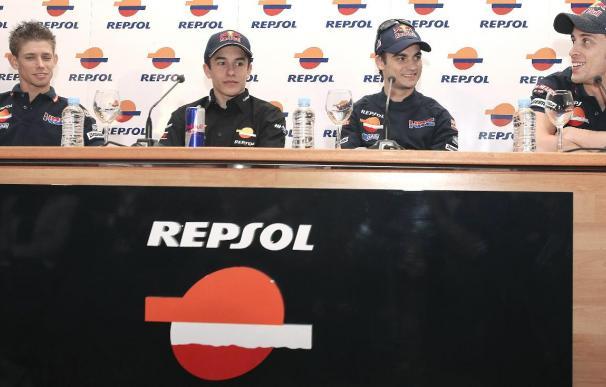 Stoner y Lorenzo con muchas ganas, Pedrosa y Rossi en busca de la recuperación