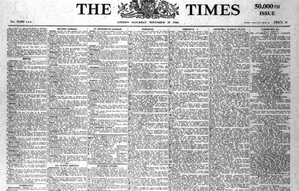 """""""The Times"""" incrementa un 60 por ciento los suscriptores digitales de pago"""