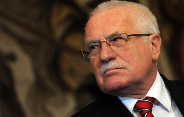El presidente checo Klaus inicia una visita oficial a Argentina y Chile