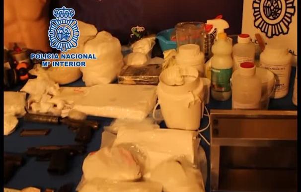 'Operación Llanto' contra una banda de narcos que operaba desde Madrid