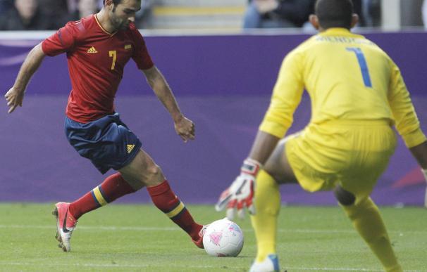 Adrián no encuentra el gol