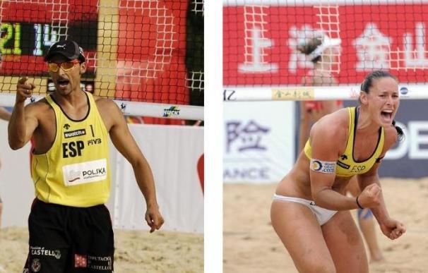 Las parejas españolas arrancan la competición con victoria