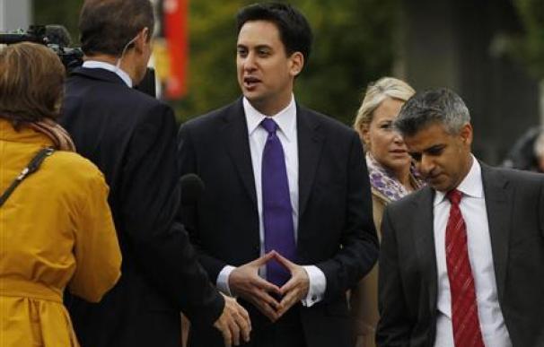Los laboristas británicos eligen a Ed Miliband como nuevo líder