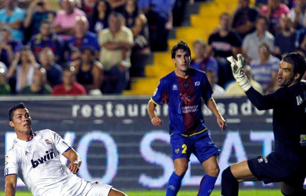 0-0. El Real Madrid da un paso atrás ante el Levante