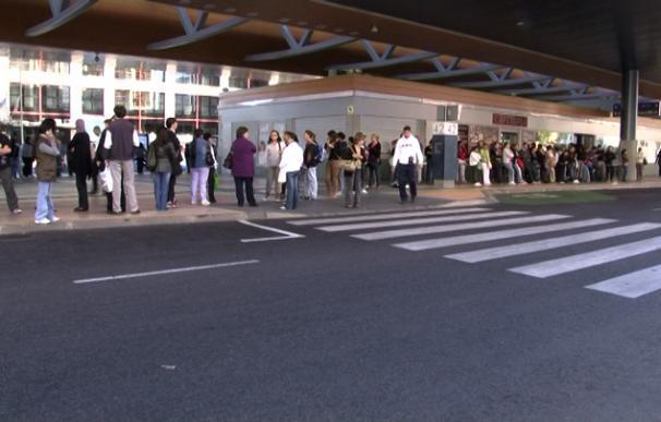 Primeras horas de huelga general en Madrid