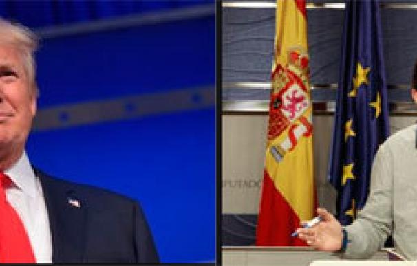 Trump e Iglesias se parecen