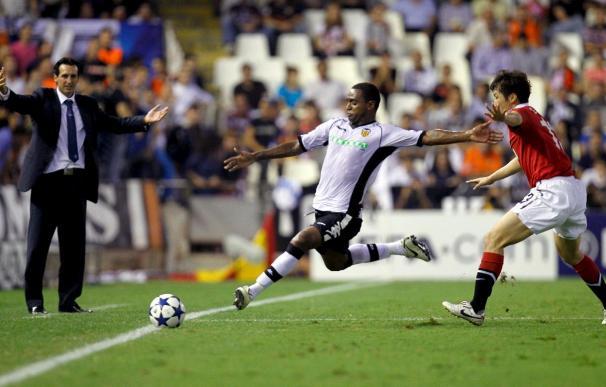 0-1. Castigo excesivo para el Valencia y mucho premio para el Manchester