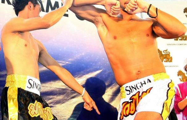 Verdasco se convierte en un boxeador tailandés