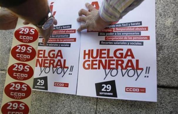 DATOS CLAVE - Huelga general del 29-S en España
