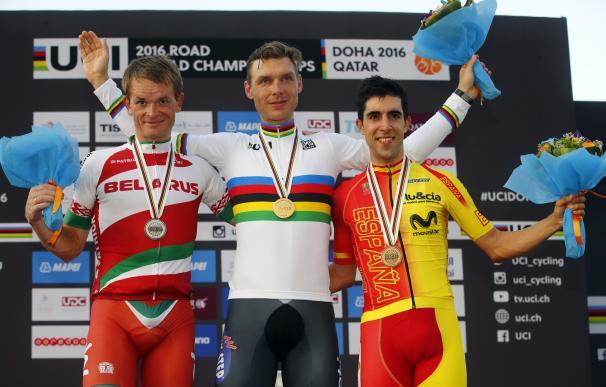 Castroviejo logra su bronce soñado en la crono de Doha