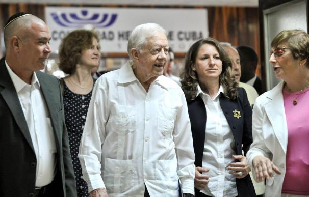 Carter espera poder contribuir a mejorar las relaciones entre EE.UU. y Cuba