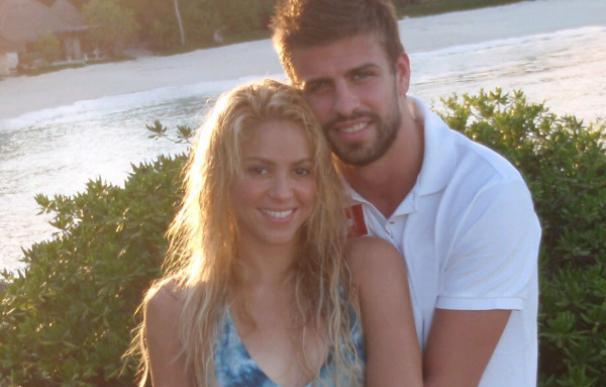 Shakira publica una foto con Piqué