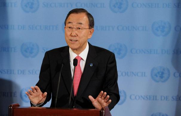 Ban Ki-Moon dice que la ONU asistirá a Libia en su proceso de transición democrática