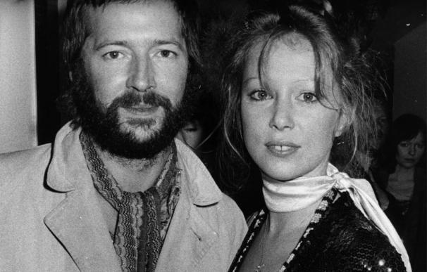 Eric Clapton y Pattie Boyd
