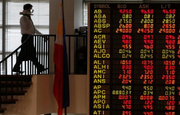 Las bolsas del Sudeste Asiático cierran con tendencia a la baja