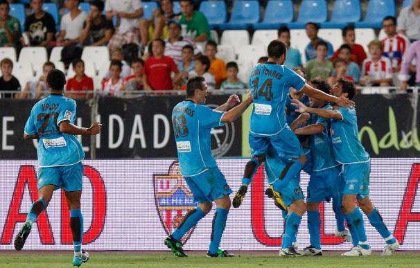 0-1. El Almería puso el dominio y el Levante, el gol