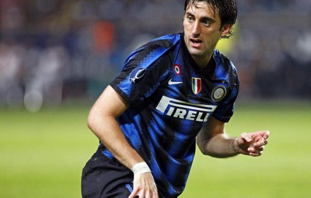 Milito y Eto'o hacen más líder al Inter, mientras Roma y Milán decepcionan