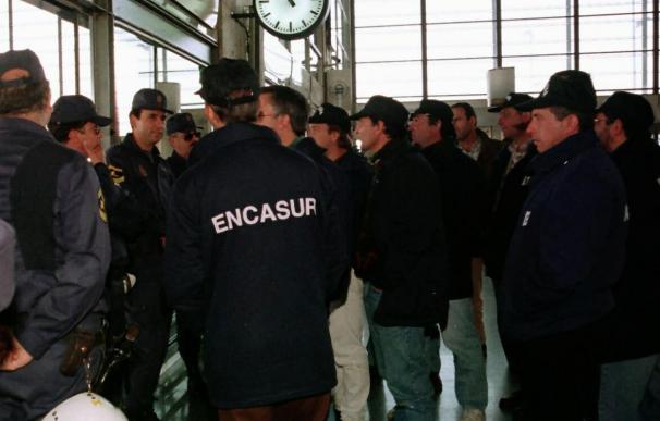 Paralizada la actividad minera en Encasur de Puertollano