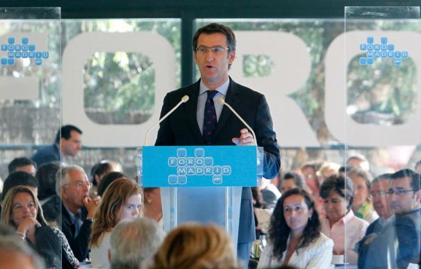 Feijóo dice que Zapatero obliga a las comunidades a dar la cara por el segundo recorte social