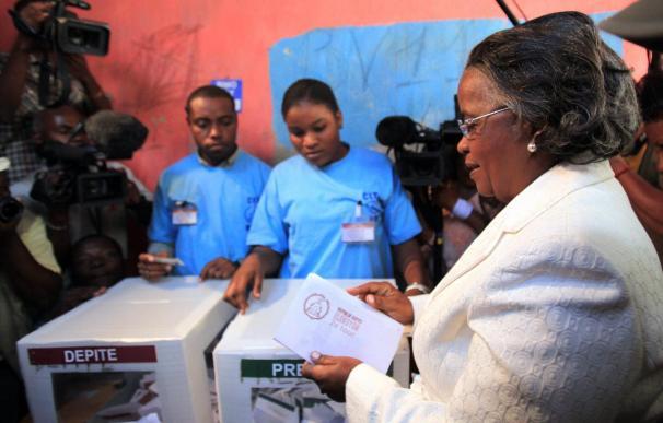 Los candidatosa a la Presidencia de Haití ven con optimismo el desarrollo de las elecciones