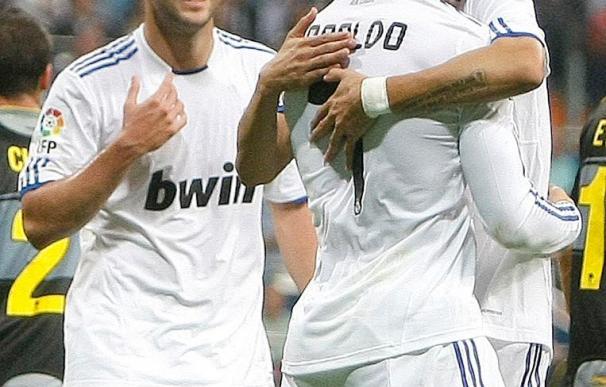 Cristiano, en crisis de juego, recupera su olfato goleador