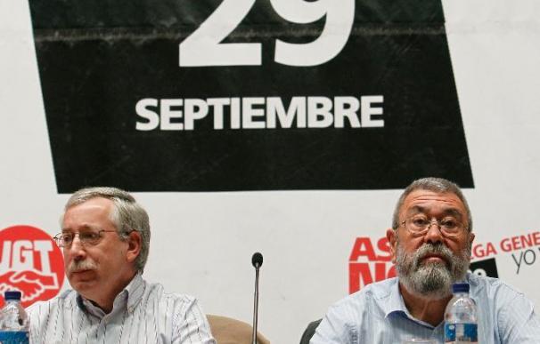UGT y CCOO advierten de que la huelga no es el punto y final del conflicto