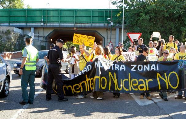 La Plataforma Contra el Cementerio Nuclear de Zarra asegura que las protestas fueron pactadas con la Guardia Civil