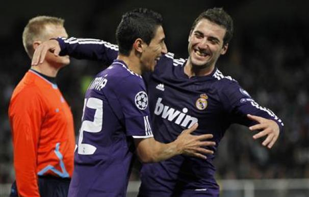 El Madrid gana 1-0 al Auxerre en Liga de Campeones