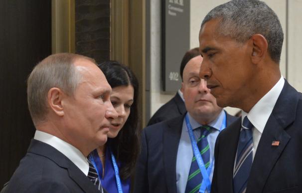 Obama y Putin en el G-20
