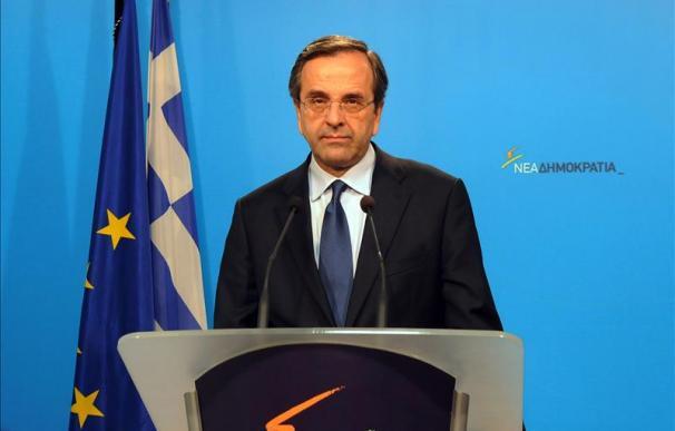 El presidente griego encargará hoy a Antonis Samarás formar un Gobierno de coalición