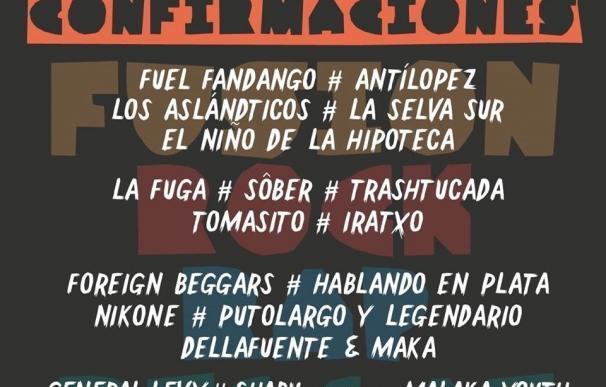 Fuel Fandango, Antílopez, Sôber, La Fuga y Tomasito, al Cabo de Plata 2017