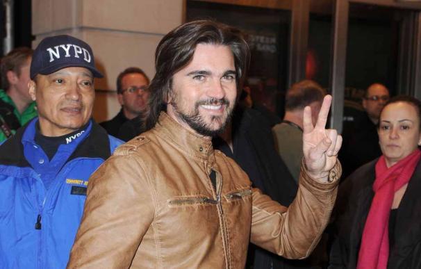 Juanes ha aprendido a compaginar el trabajo con la familia