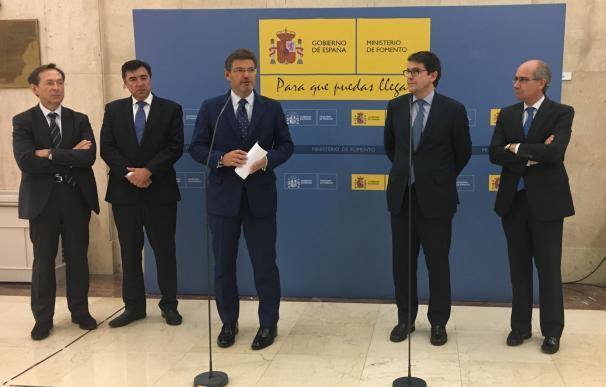 Catalá espera que antes de que acabe el año la CE licite las obras de seguridad y mejora del Corredor del Atlántico