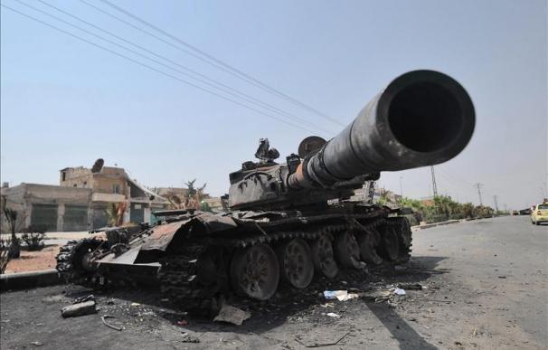 El Ejército sirio redobla los bombardeos en Alepo en su lucha contra los rebeldes