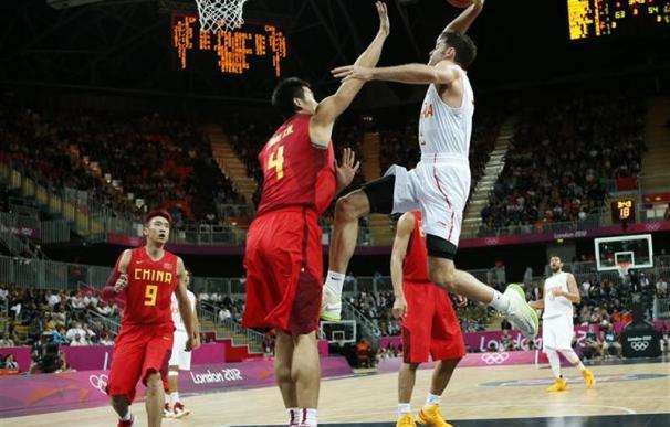 El baloncesto español gana a China en su debut olímpico